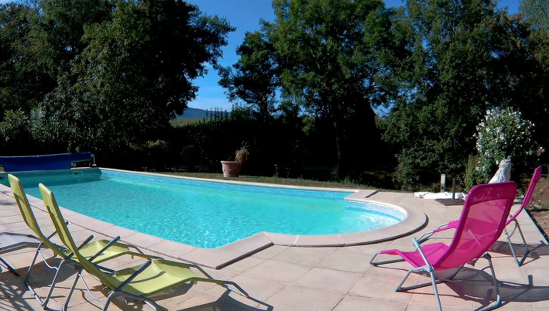 piscine des chambres d'hôtes