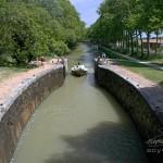 Canal du midi entre Toulouse et Carcassonne