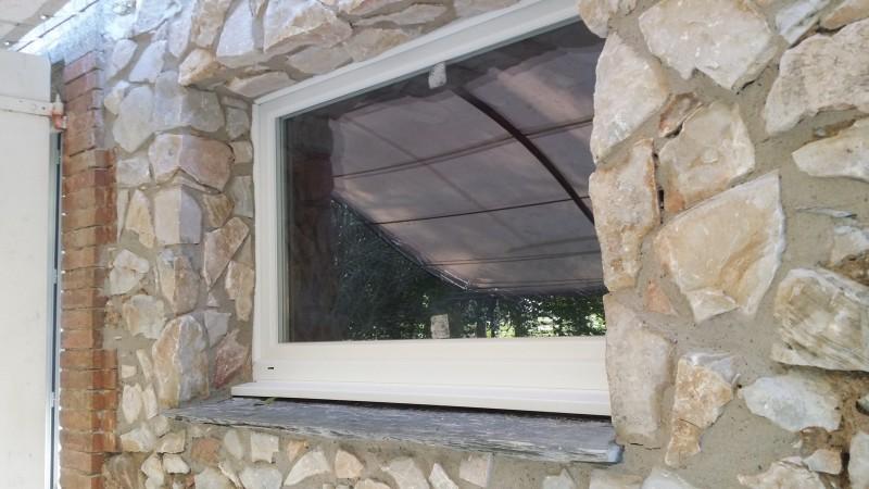 Chambres d'hôtes : travaux de la fenêtre finis