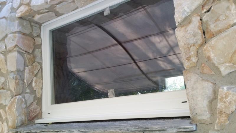 Chambres d'hôtes : vue extérieure de la fenêtre finie