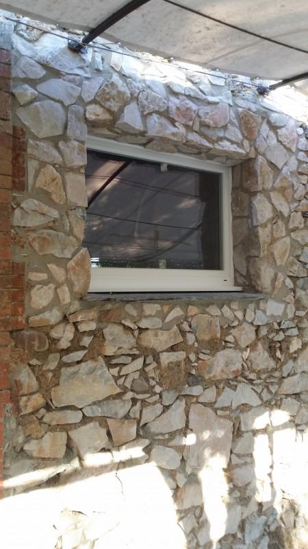 Chambres d'hôtes : vue générale de la façade finie