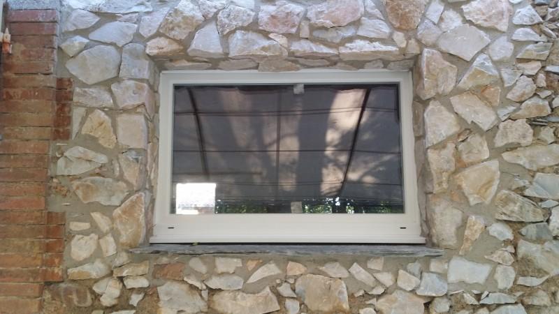 Chambres d'hôtes : vue générale de la fenêtre finie