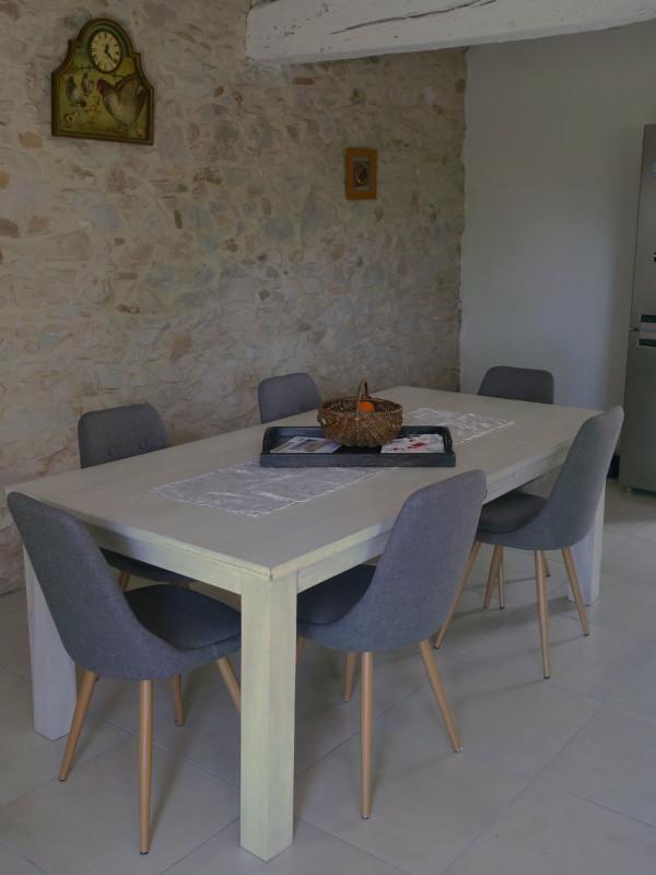 La nouvelle cuisine de notre maison d'hôtes