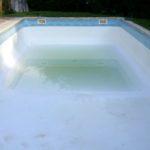 Début remplissage piscine