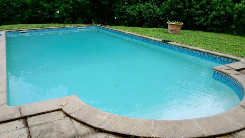Ouverture de la piscine des chambres d'hôtes