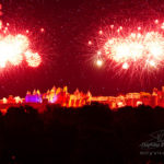 Embrasement de la cité de Carcassonne 2018