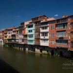 Vieilles maisons sur l'Agout à Castres