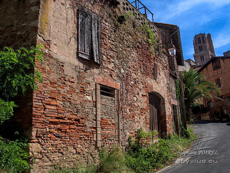 Accès au quartier Castelviel d'Albi