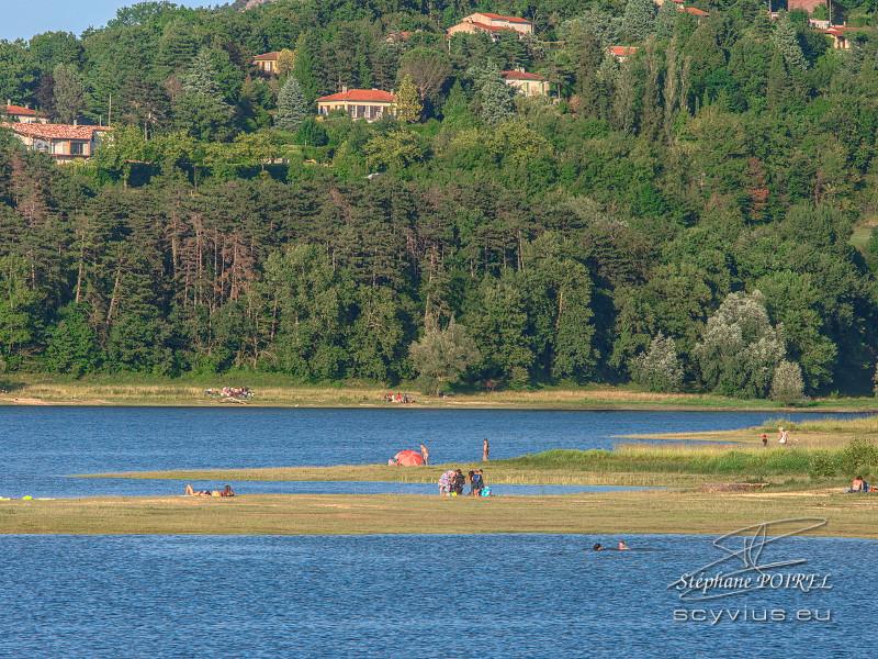 L'été au lac de Saint-Ferréol