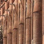 Façade de la cathédrale Sainte-Cécile à Albi