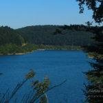 Lac des Cammazes depuis la Rigole