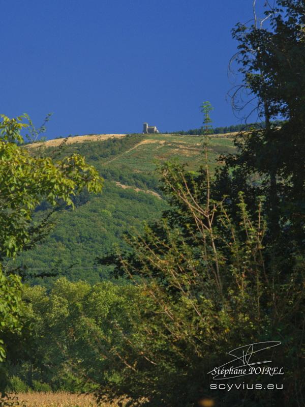 La Capelette vue depuis le relais d'En Lanet